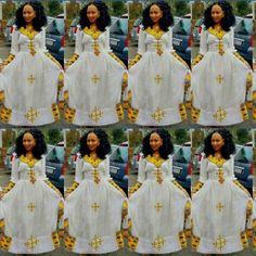 Ethiopian Traditional Dress, Traditional Dresses, Ethiopian Dress, Character Ideas, Beautiful Dresses, Nail Art, Women's Fashion, America, Culture