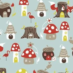 Monoluna - Elvendale fabric by Fox Hollow