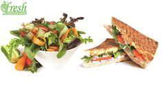 Benefit from 50% off Food & Beverages from the Menu at Fresh Healthy Café for only $6 instead of $12!