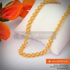 Glittering golden chain...