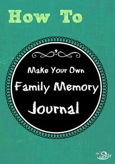 Make a family memory journal for all your kids' funniest quotes! Steps here: http://thestir.cafemom.com/big_kid/157119/20_priceless_kid_quotes_thatll?utm_medium=sm_source=pinterest_content=thestir
