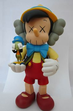 kaws_pinocchio_with_jiminy_cricket_original_fake_disney
