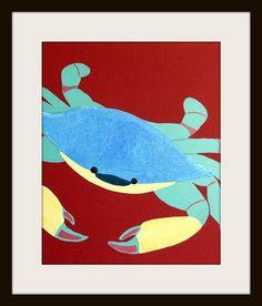 Sea Creature bathroom prints. 3 8x10 Modern nursery by Wallfry
