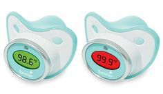 Baby Pacifier Thermometer. Not that I have a baby or plan for one any time soon, but for future times :)