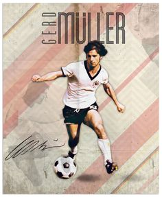World Cup legends by Emilio Sansolini, via Behance