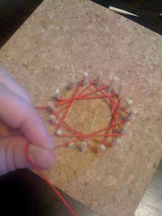 ...make these cool string designs. what a great idea to use the multiplication tables then wear them!