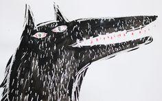 Wolf by Hazel Terry, via Flickr
