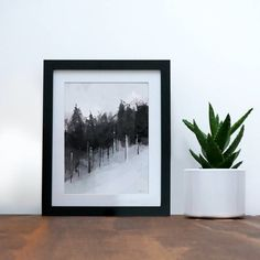 Are you interested in our winter trees art print? With our snowboarding skiing art print you need look no further.