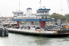 Bolivar Ferry..free ride...dolphin watching...walk or drive-on.