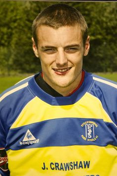 Vardy started off at eighth-tier Stocksbridge Park Steels