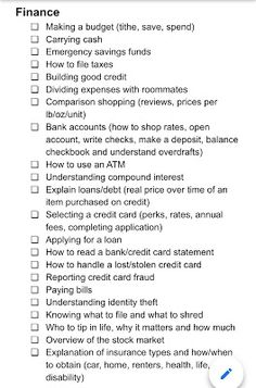 Lots of Scotts: Life Skills List for Young Adults - Finance tips, saving money, budgeting planner Life Skills Kids, Life Skills Lessons, Life Skills Activities, Teaching Life Skills, List Of Skills, High School Activities, Middle School Counselor, School Counseling, Budget Planer