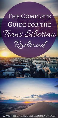 The Trans Siberian Railroad is a breathtaking train ride through Russia. The Trans Siberian Railroad is the longest railway in the world and is an absolutely incredible experience. We will share everything you need to know including what to bring on the Trans Siberian Railroad, what to expect on the Trans Siberian Railroad, what stops to make on the Trans Siberian Railroad, what visas you need for the Trans Siberian Railroad & much more. Come check out and save our Trans Siberian Railroad…