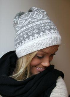 Mariuslue til dame i deilig ull og alpakka Drops Lima, Norwegian Knitting, Diy Crafts For Gifts, Knit Wrap, Knit Picks, Knit Or Crochet, Crochet Accessories, Knitting Designs, Knitted Hats