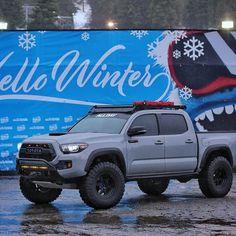 All Day Aaron (@alldayaaronn) • Instagram photos and videos Toyota Tacoma Roof Rack, Toyota Tacoma Trd Sport, Tacoma Truck, Toyota 4, Toyota Trucks, Lifted Ford Trucks, Toyota Suvs, Trucks Only, New Trucks