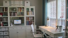 This YHL reader makeover is pretty much exactly what I would want in a study. Marking desk with a computer nearby.