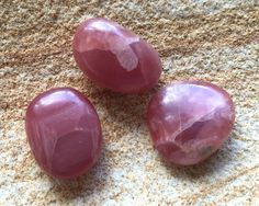 Beautiful Tumbled Rhodochrosite, from LilacLanternCrystals