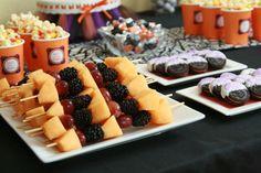 "Photo 24 of 47: Halloween Birthday party / Birthday ""Tricks, Treats and Tutus"" | Catch My Party"