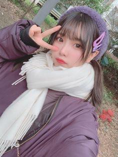 Cute Japanese Girl, Cute Korean Girl, Cute Asian Girls, Sweet Girls, Cute Girls, Ulzzang Fashion, Ulzzang Girl, Cute Kawaii Girl, Cute Girl Outfits