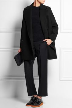 Stella McCartney | Edith double-breasted wool-blend coat