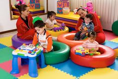 Toddler Classroom, Toddler Preschool, Baby Gym, Baby Play, Baby Indoor Playground, Micro Creche, Kids Play Equipment, Kindergarten Interior, Kids Gym