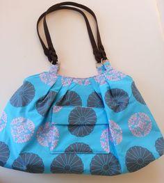 Handbag Tote Purse Handmade with Amy Butler Fabric by AggieRay, $39.00