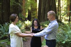 Family From Sussex, England Marries in Humboldt's Majestic Redwood Forest
