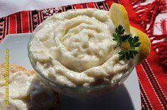 Salata de icre de hering cu ceapa fara gris