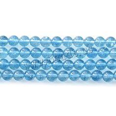 Crackle Quartz Beads, Round Semi Precious Beads, Lampwork Beads, Wholesale Jewelry, Gemstone Beads, Decorative Bowls, Beaded Jewelry, Glass Beads, Quartz, Gemstones
