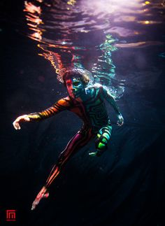 Dubai photographer fashion, underwater, commercial, corporate, wedding - Underwater edytorial for Art Color Ballet