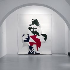 "Back to the Future | Maurizio Mochetti ""Camouflage Natter"" 1979, Courtesy Furini Arte Contemporanea"