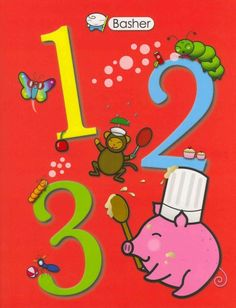 Check it out at the Orlando Public Library! 123 by: Simon Basher  Summary: Presents the numbers one through twenty alongside colorful images of animals corresponding to each number.