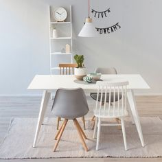 Used Chair Lifts For Stairs Balcony Table And Chairs, Dinning Chairs, Nordic Furniture, Home Furniture, Dinner Room, Dining Room Wall Decor, Room Interior Design, White Rooms, My New Room