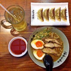 Ramen & Gyoza = Perfecto!!! #jakarta