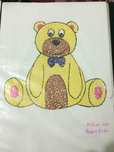 Yırtma yapıştırma Winnie The Pooh, Disney Characters, Fictional Characters, Teddy Bear, Toys, Animals, Activity Toys, Animales, Winnie The Pooh Ears