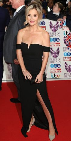 Candice Brown, Helen Skelton, Lauren Pope, Pride Of Britain, Strapless Dress Formal, Formal Dresses, Tv Presenters, Red Carpet, Bring It On