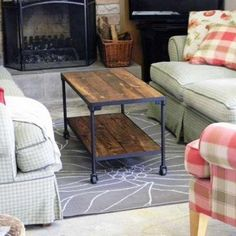 DIY Industrial Style Table