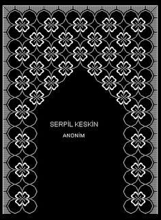 ANONİM SECCADE 02 Easy Crochet Patterns, Cross Stitch Patterns, Teapot Cover, Arabesque Pattern, Prayer Rug, Yarn Shop, Bargello, New Hobbies, Vintage Patterns