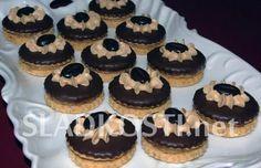 Brabantské kávové dortíčky