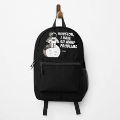 Different Styles, Creative Design, Fashion Backpack, Houston, Backpacks, Space, Printed, Awesome, Bags