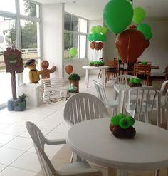 As Boladonas   Ana , Luciana e Cristiane   www.bemboladoip.com.br        Visão aérea da mesa           Cantinho da caixa de presente   ...