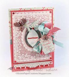 JustRite Christmas Background Stamps | JustRite Papercraft Inspiration Blog