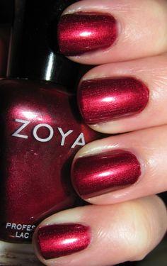 Zoya Isla -Dark Red