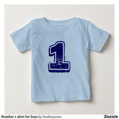 Number 1 Shirt For Boys Christmas Stocking Stuffers Stylish Baby Shirts Girls