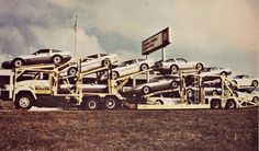 1984 Corvettes leave Bowling Green