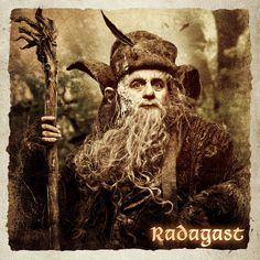 Radagast the Brown Tauriel, Kili, Legolas, My Fantasy World, High Fantasy, Radagast The Brown, Middle Earth Books, Science Fiction, Lotr Trilogy