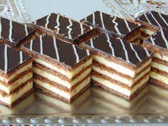 Hungarian Desserts, Hungarian Recipes, Hungarian Food, Baking Recipes, Keto Recipes, Cake Recipes, Winter Food, Keto Dinner, No Bake Cake