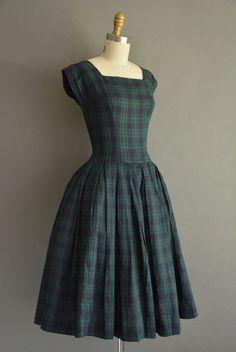 EN PLAN... años 50 vacaciones vestido vintage por simplicityisbliss