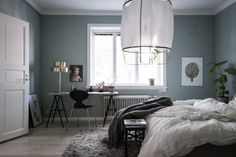 Decorated rooms: 60 ideas of environments to get right in the decoration - Home Fashion Trend Interior Design Furniture, Home Bedroom, Bedroom Interior, Home Goods Decor, Master Bedroom Interior, Bedroom Flooring, Home Decor, Mint Bedroom, Apartment Decor