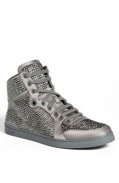 Gucci 'Coda' Crystal High Top Sneaker available at #Nordstrom