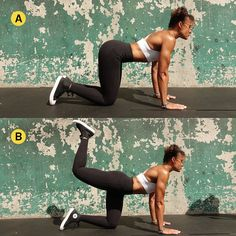 The butt and legs workout Kim Kardashian totally swears by for her iconic booty. Home Exercise Routines, At Home Workouts, Butt Workouts, Workout Routines, Exercise Moves, Men Exercise, Healthy Exercise, Kim Kardashian Workout, Glute Kickbacks
